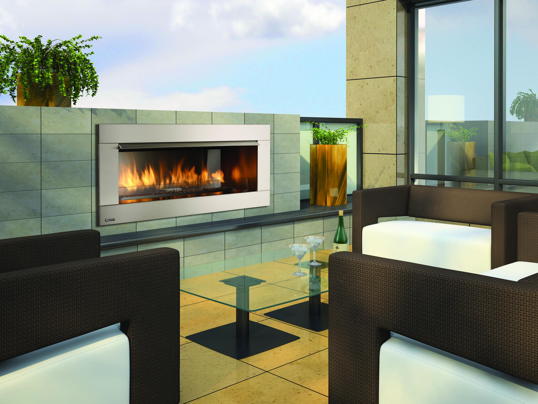 Regency 174 Gemfire Hzo42 Outdoor Gas Fireplace Palm Air